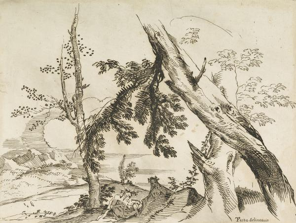 Landscape with Nymph and River God