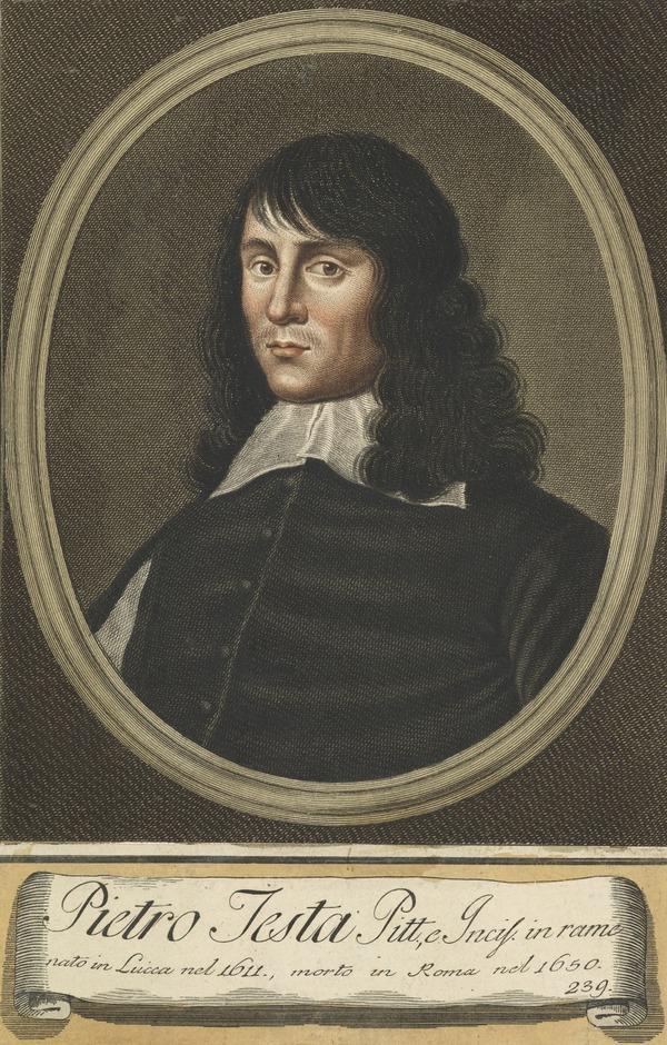 Portrait of Pietro Testa