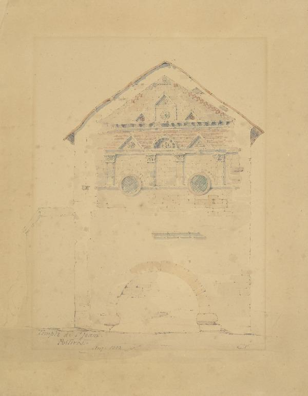 Temple of St Jean, Poitiers (1852)