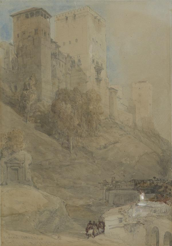 Tower of Comares, Alhambra (1833)