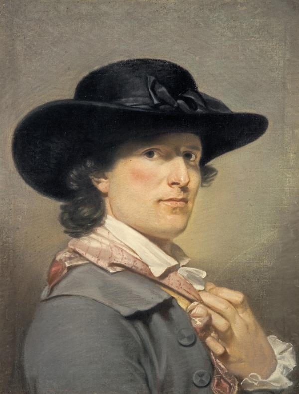 Archibald Skirving, 1749 - 1819. Artist (Self-portrait)