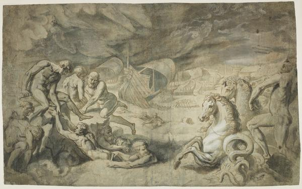 The Shipwreck of Aeneas (Estimated earliest year: 1592)