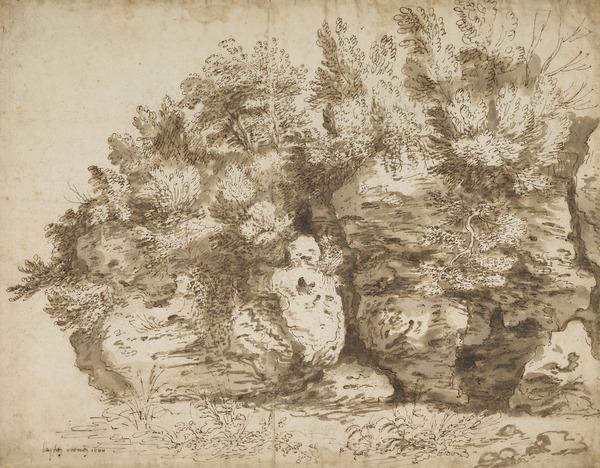 Overgrown Rocks (Estimated earliest year: 1601)