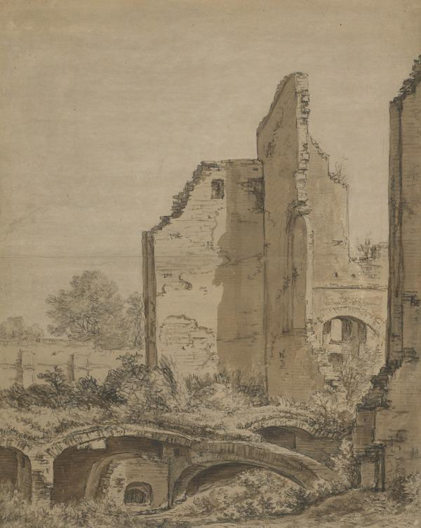 The Ruins of a Monastery near Cleve (Estimated earliest year: 1624)