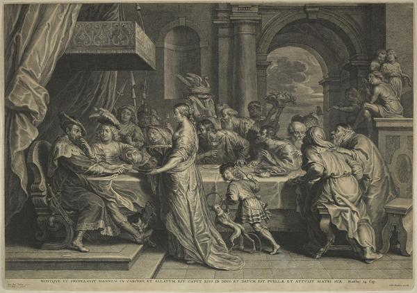 The Feast of Herod (1596 - 1659)