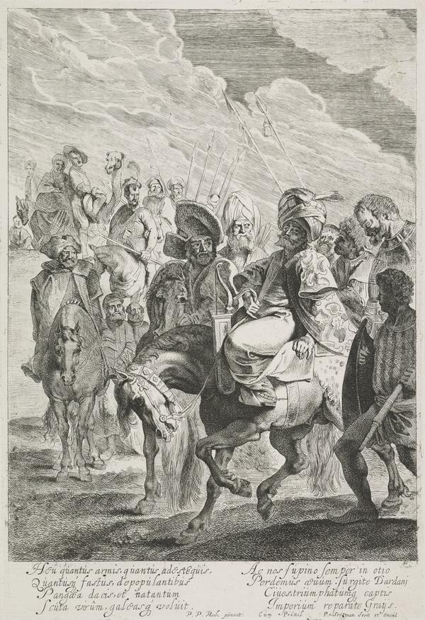 A Turkish Prince on Horseback (1616 - 1657)
