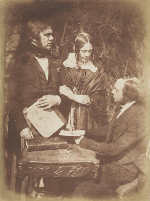 Dr George Bell, Alexina, Lady Moncrieff and Rev. Thomas Bell [Group 35] (1843 - 1847)