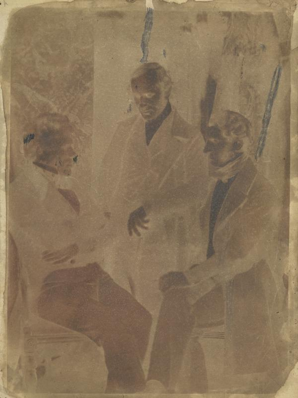 - Brown, Rev. R. Brown and unknown man [Group 55] (1843 - 1847)