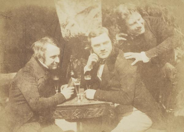 James Ballantine, Dr George Bell and David Octavius Hill . Known as 'Edinburgh Ale' [Group 27] (1843 - 1847)