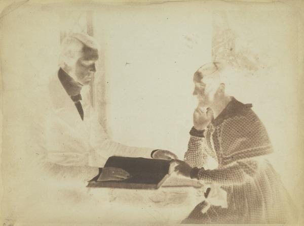 Mrs Barker and Dr John Forbes [Group 30] (1843 - 1847)
