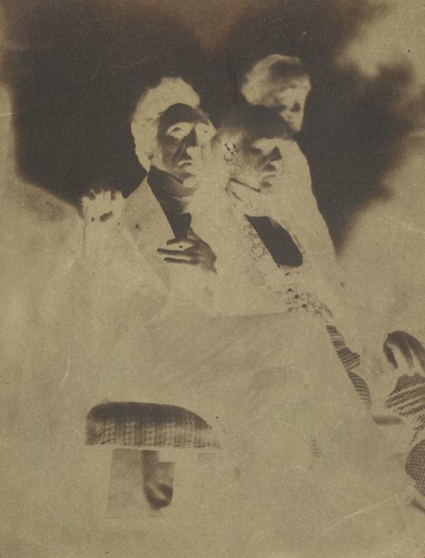 Rev. Alexander Watson Brown, Mr Brown and unknown man [Group 48] (1843 - 1847)