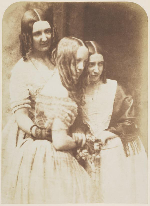 Misses Binnie and Mrs Justine (Monro) Gallie [Group 37] (1843 - 1847)