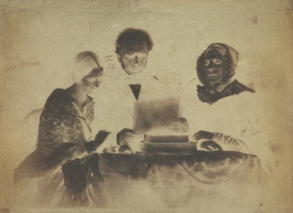 Mrs Balfour, d. 1844, Rev. Lewis Balfour of Colinton, d. 1860 and Miss Balfour [Group 25] (1843 - 1847)