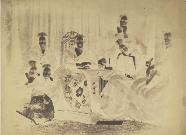 The Honourable Misses Annesley, daughters of  Viscount Valentia [Group 12] (1843 - 1847)