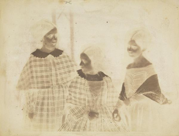 Daughters of the Marquis of Abercorn; the Ladies Harriet, Beatrix and Louisa Hamilton [Group 1] (16 November 1844)