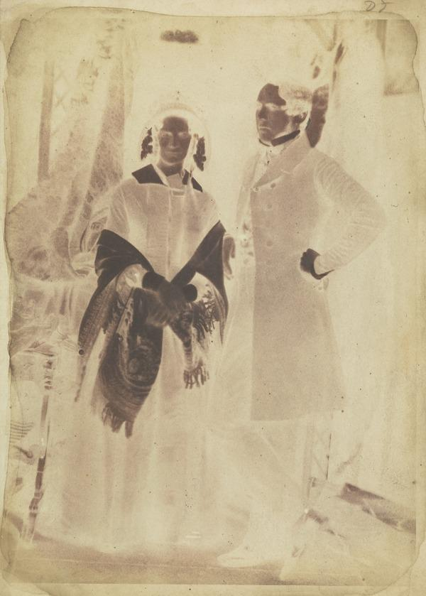 Dr and Mrs Brown [Group 47] (1843 - 1847)