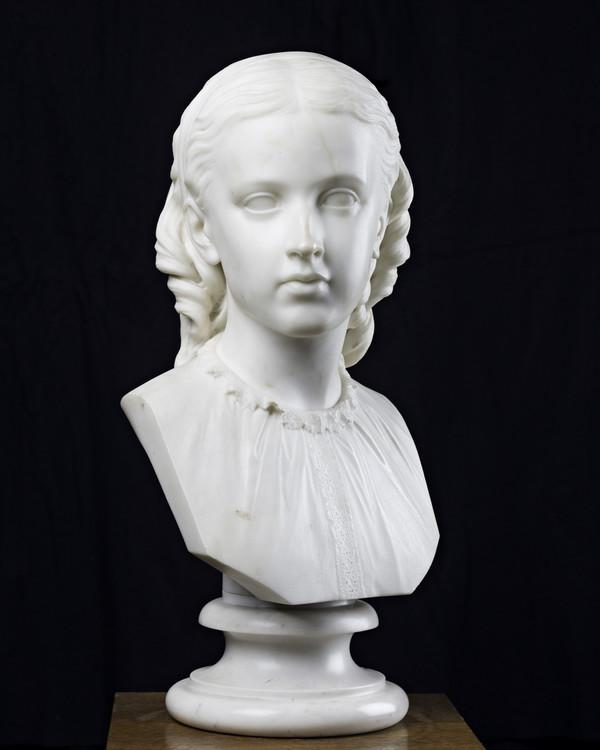 Scots Girl (Dated 1869)
