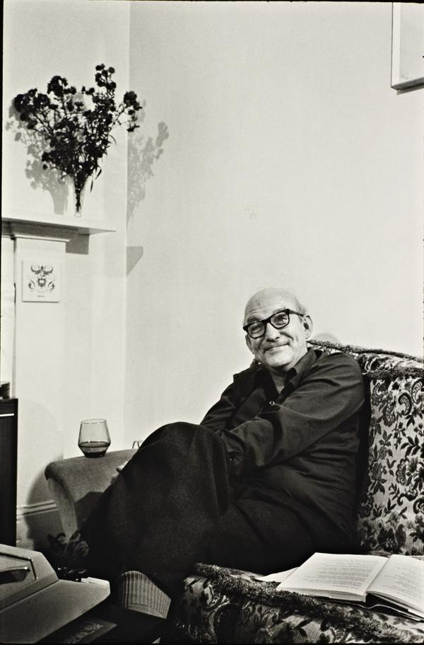 Iain Crichton Smith, 1928 - 1998. Poet. (From the series 'The Seven Poets') (1980)