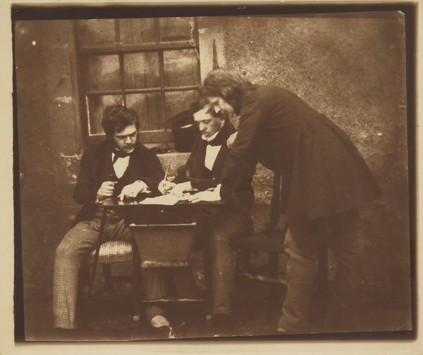 Dr George Bell, Peter Fraser and David Octavius Hill [Group 32] (1843 - 1847)