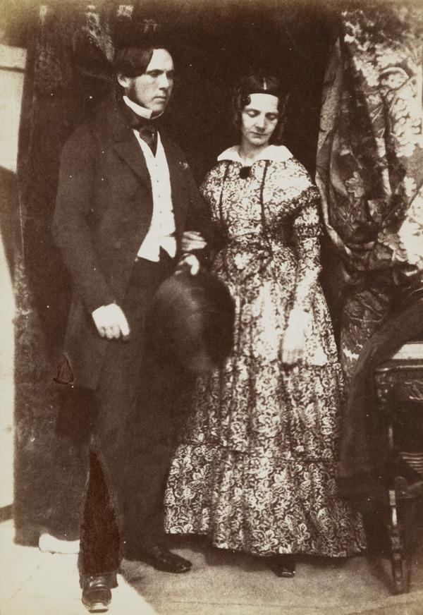 Dr and Mrs Brown [Group 45] (1843 - 1847)