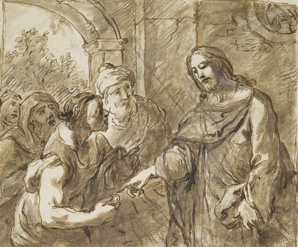 Christ and the Pharisee (Estimated earliest year: 1599)