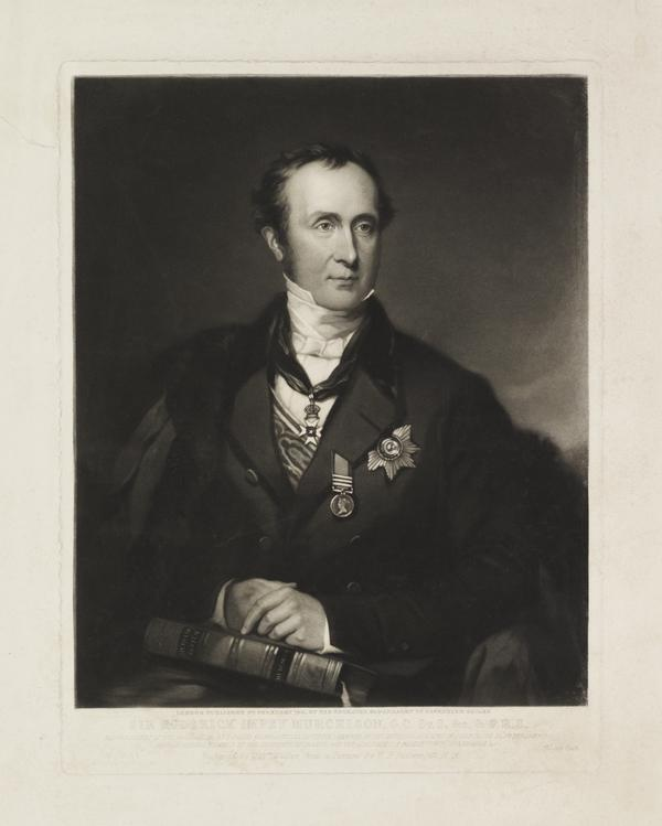 Sir Roderick Impey Murchison, 1792 - 1871. Geologist (Published 1851)