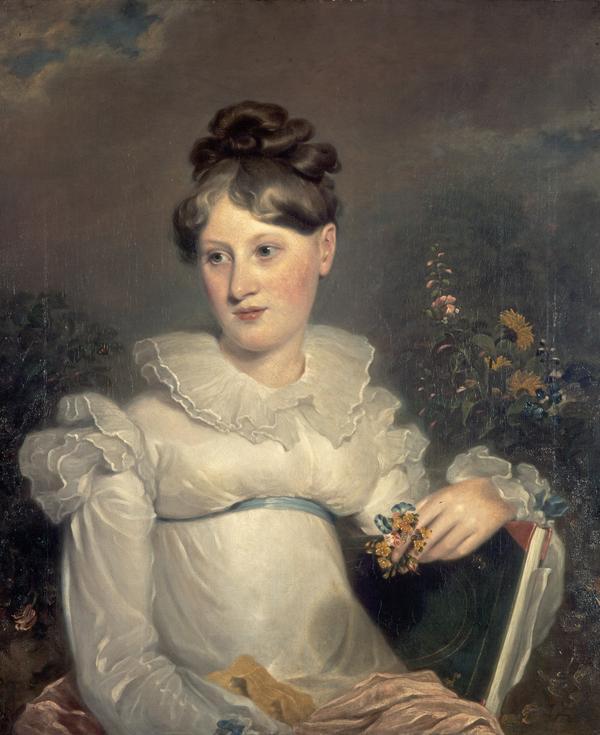 Charlotte Nasmyth, 1804 - 1884. Artist (About 1827)