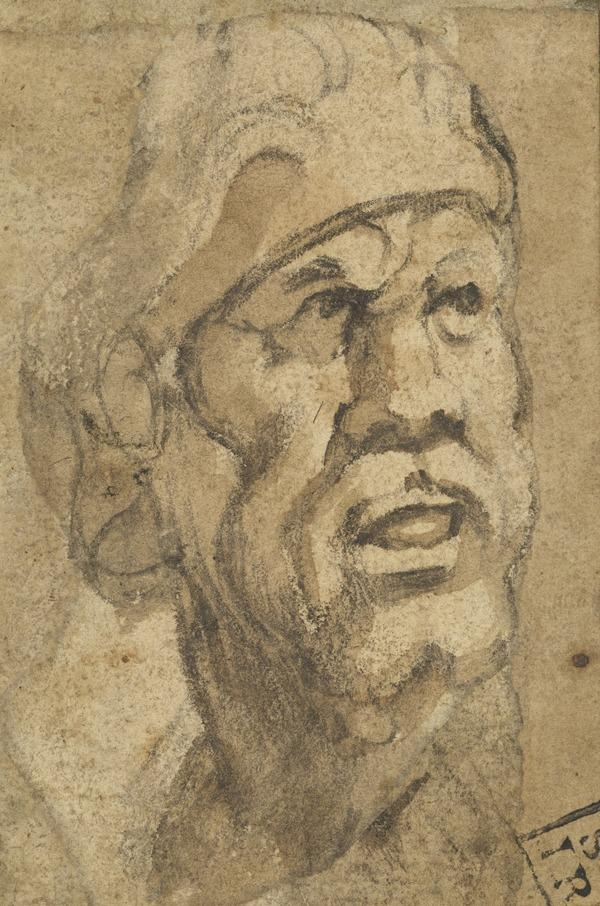 Head of a Man with a Cap