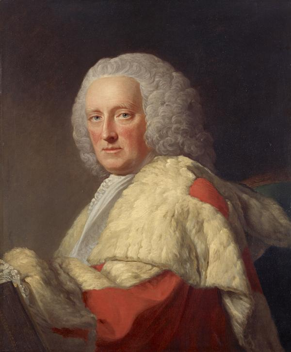 Archibald Campbell [Mac Cailein Mòr], 3rd Duke of Argyll, 1682 - 1761. Statesman (About 1759)