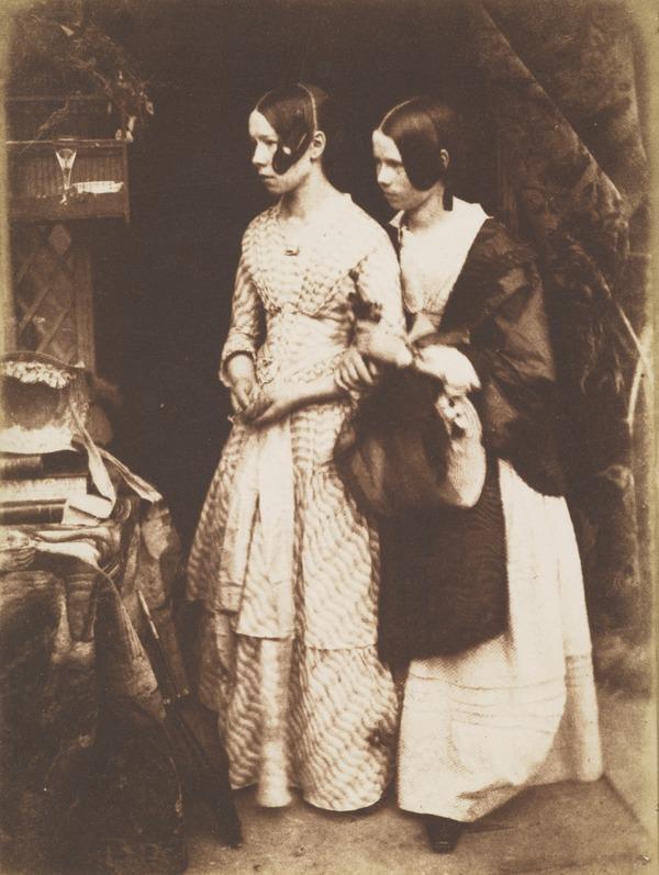 Miss Ellen and Miss Agnes Milne [Group 194]