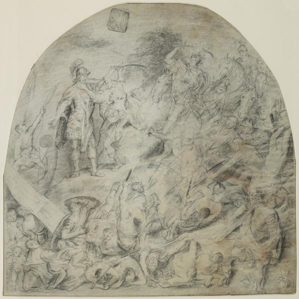 The Night Raid of the Batavians on the Roman Camp