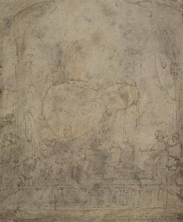 Study for 'The Conspiracy of Claudius Civilis'