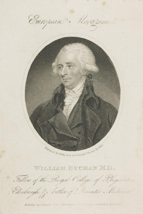 William Buchan, 1729 - 1805. Physician (1805)