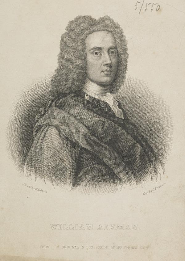 William Aikman, 1682 - 1731. Artist
