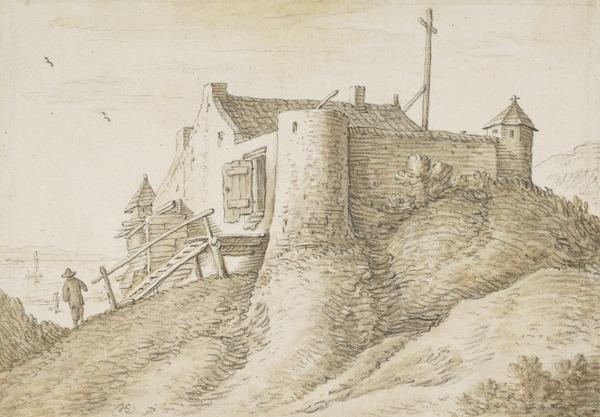 A Lighthouse Outside Vlissingen (Estimated earliest year: 1624)