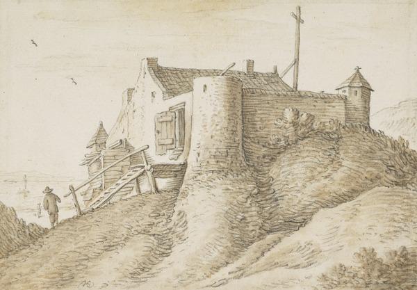 A Lighthouse Outside Vlissingen (Estimated earliest year: 1624)