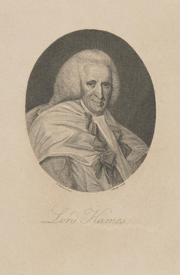 Henry Home, Lord Kames, 1696 - 1782. Scottish judge and author