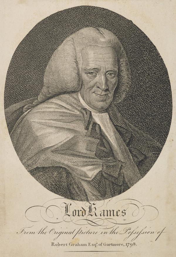 Henry Home, Lord Kames, 1696 - 1782. Scottish judge and author (Published 1798)