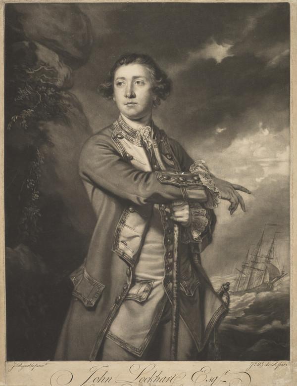 Sir John Lockhart Ross, 1721  1790. Admiral
