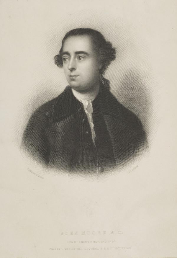 Dr John Moore, 1729 - 1802. Physician and author