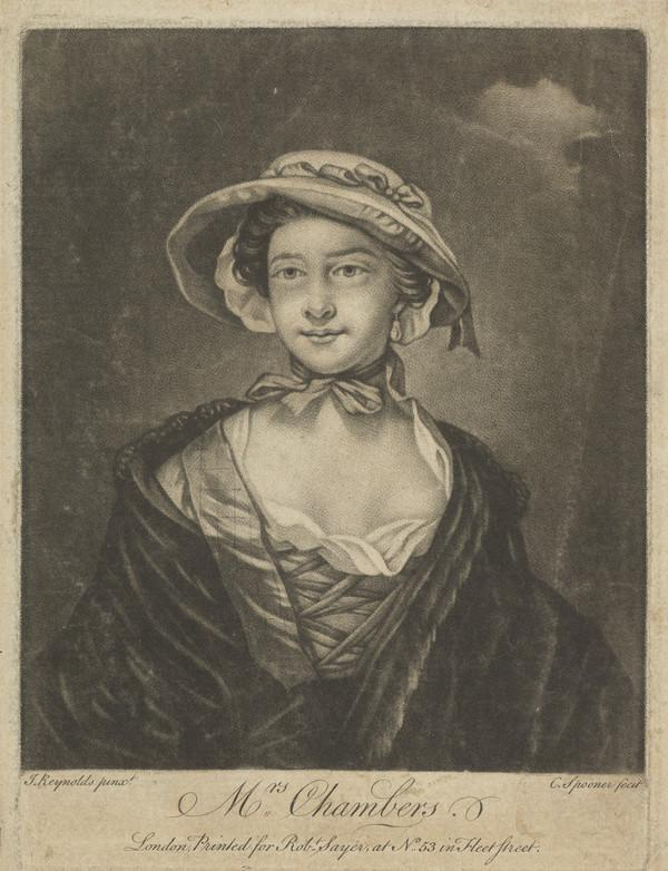 Catherine (Moore), Lady Chambers, d. 1797. Wife of Sir William Chambers