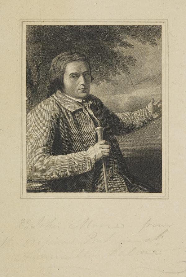 Dr John Moore, 1729 - 1802. Physician and author (Published 1820)