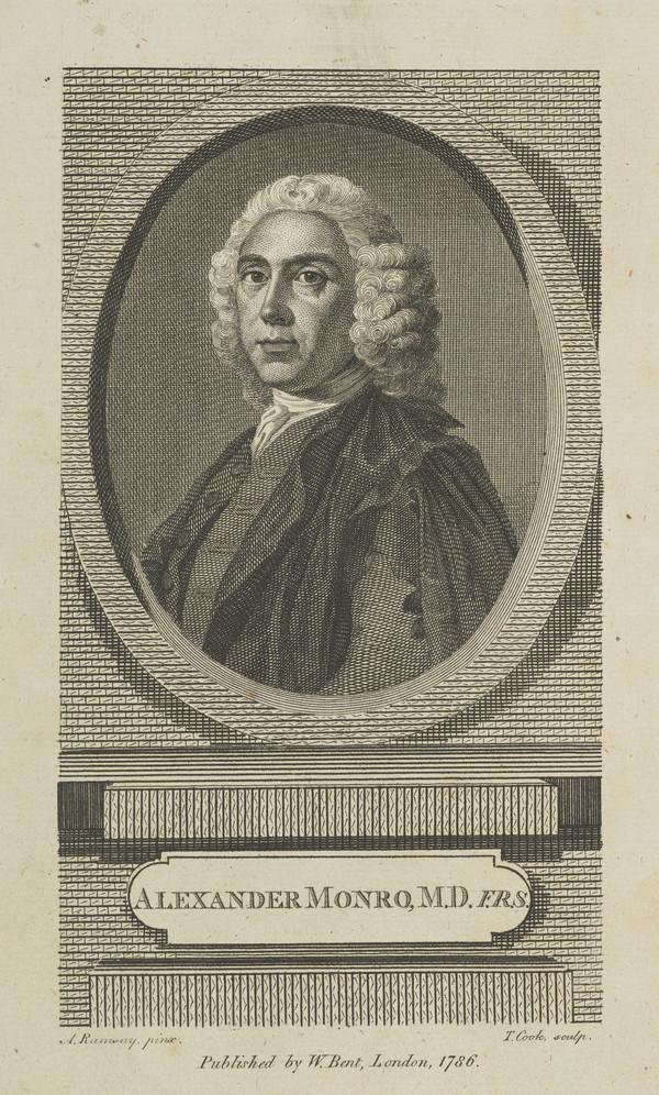 "Alexander Monro, ""Primus"", 1697 - 1767. (Published 1786)"
