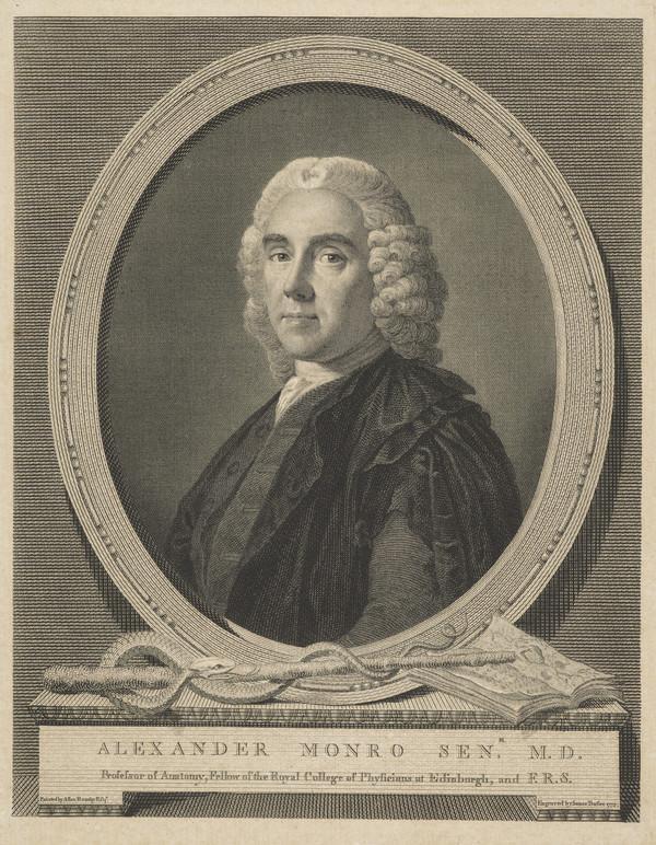 "Alexander Monro, ""Primus"", 1697 - 1767. (1775)"