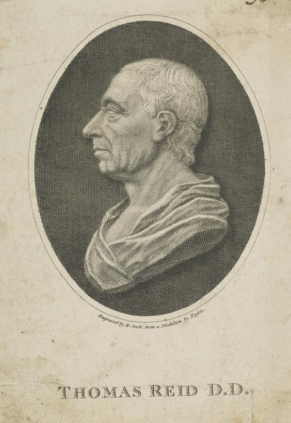 Professor Thomas Reid, 1710 - 1796. Philosopher