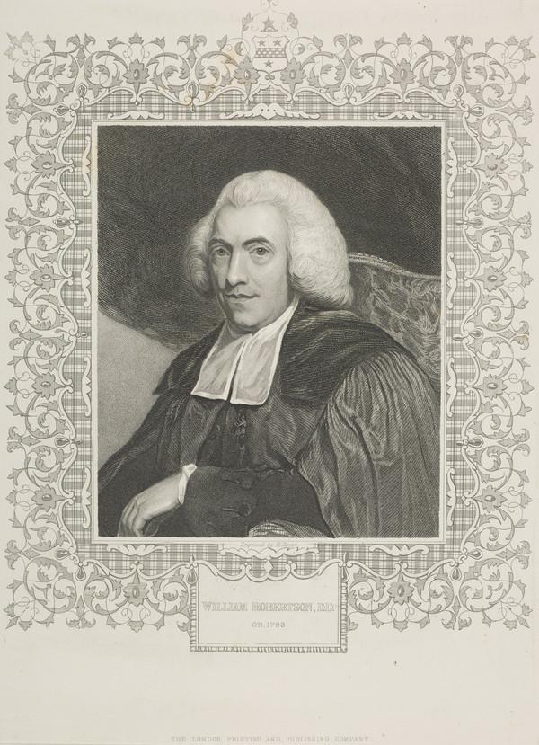 William Robertson, 1721 - 1793. Historian; Principal of Edinburgh University