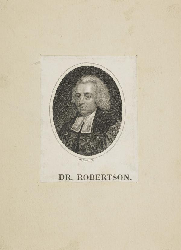 William Robertson, 1721 - 1793. Historian; Principal of Edinburgh University (Published 1819)