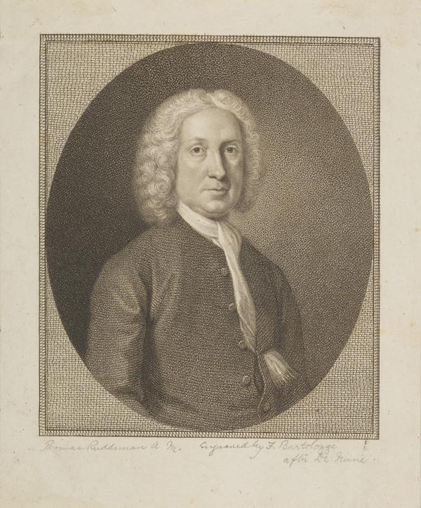 Thomas Ruddiman, 1674 - 1757. Philologist and publisher
