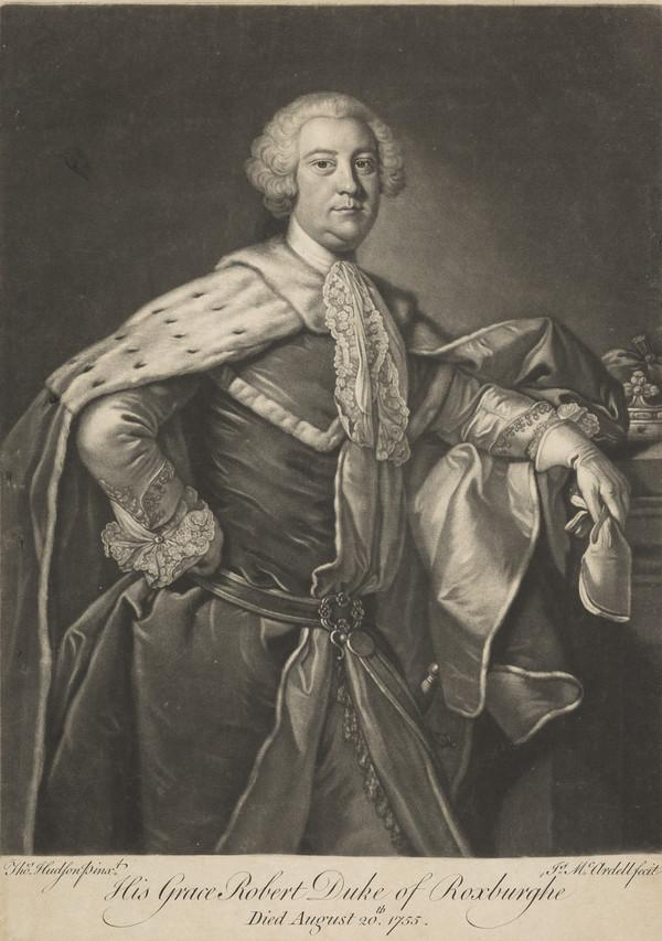 Robert Ker, 2nd Duke of Roxburghe, c 1708 - 1755