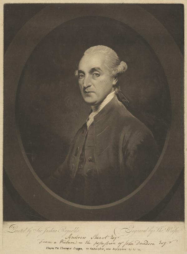 Andrew Stuart, d. 1801. Lawyer; agent in the Douglas case